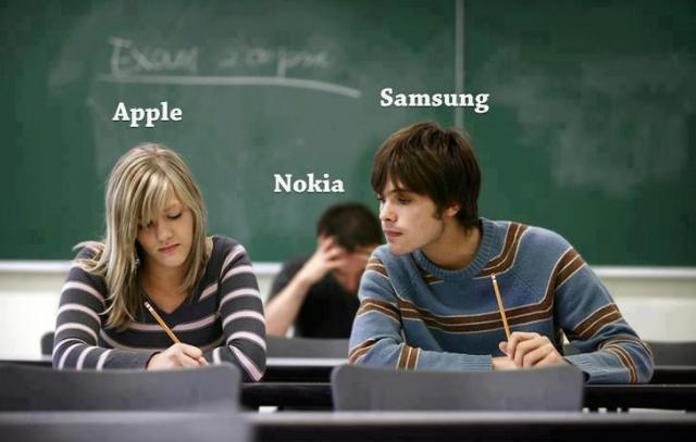 Nokia Apple Samsung